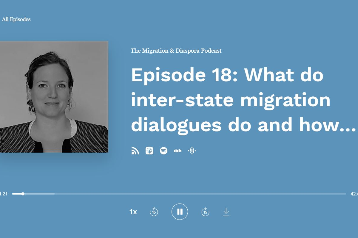 Rabat Process featured in the Migration & Diaspora Podcast